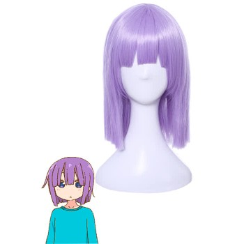 Miss Kobayashi's Dragon Maid Shota Magatsuchi Purple Cosplay Wigs