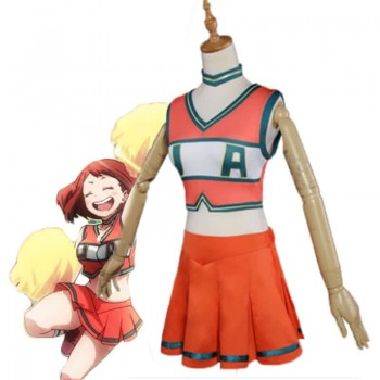 BNHA MHA Ochako Uraraka Woman Lala uniform Cosplay Costume