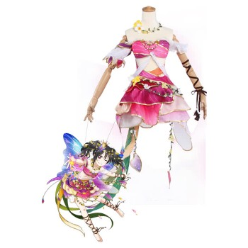 Love Live! Flower Fairy Awaken Nico Yazawa Pink Cosplay Costume