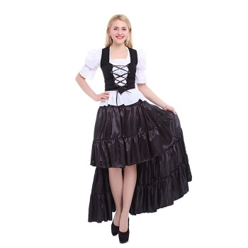 Oktoberfest Costumes Women  Retro Belly Dances Skirts Long Dresses GC14A-F-3