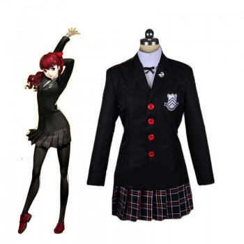 Persona 5 Royal Kasumi Yoshizawa School Uniform Cosplay Costume