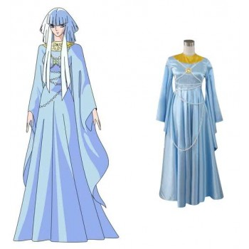 Saint Seiya Hilda cosplay costume