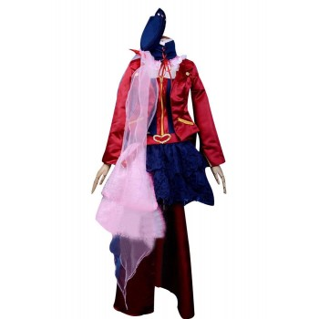 Macross Frontier Sheryl Nome Cosplay Costume