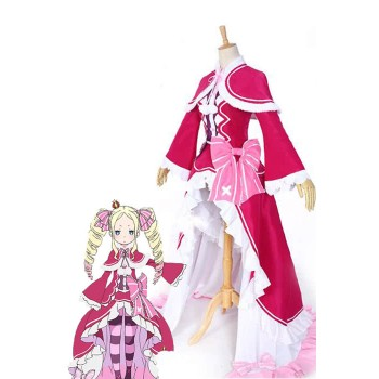 Re:ZERO -Starting Life in Another World Beatrice Anime Cosplay Costumes Dresses