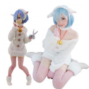 Re : Zero-Starting life in another World Rem Sheep Cosplay Costume