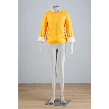 Love Live! Kousaka Honoka Yellow Coat Cosplay Costumes