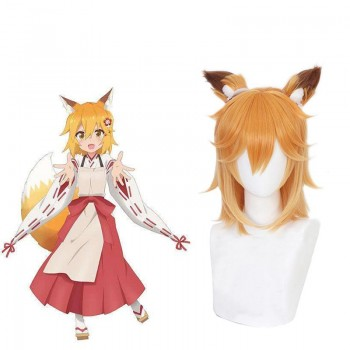 Sewayaki Kitsune No Senko-san/Meddlesome Kitsune Senko-san Senko-san Blonde Wig Contains Ears