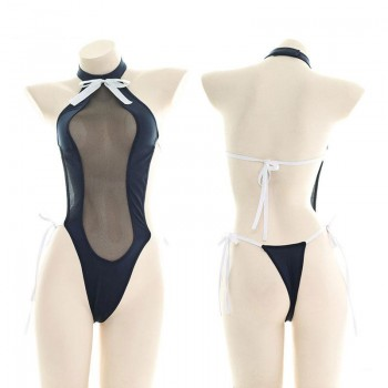 Sexy Hollow Uniform Swimsuit Cosplay Costume