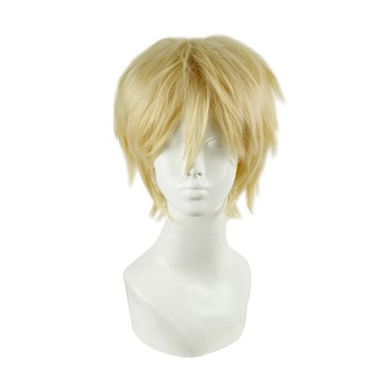 30cm Blond Short Kagerou Project  Kano Shuuya Cosplay Wig