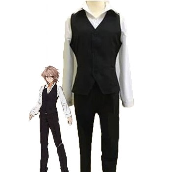 Fate/Apocrypha Sieg Black and White Uniform Cloth Anime Cosplay Costumes