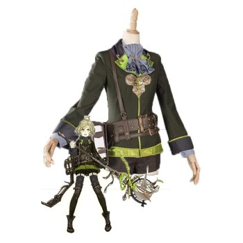 SINoALICE Pinocchio Green Game Cosplay Costumes