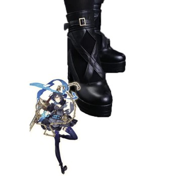 Presale SINoALICE Alice Black Game Cosplay Woman Shoes