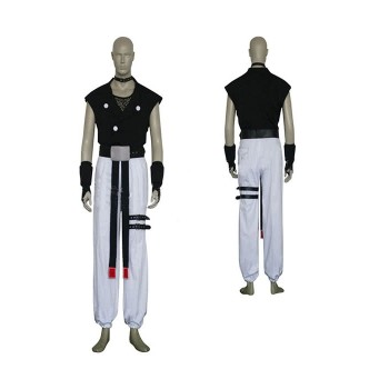Guilty Gear Chipp Zanuff Game Cosplay Costume Partywear
