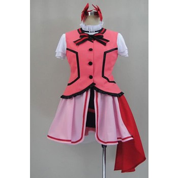Love Live! Nico Yazawa Cosplay Costume With Lovely Color