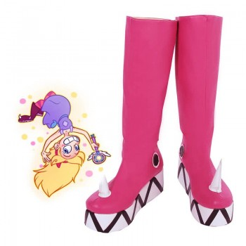 Star vs. the Forces of Evil Pink Cosplay Shoes