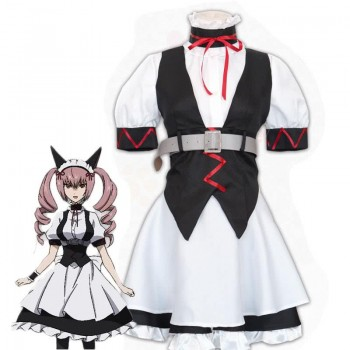 Steins;Gate 0 Akiha Rumiho Maid Cosplay Costume Full Sets
