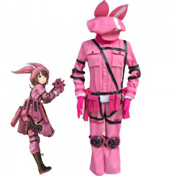 Sword Art Online Alternative: Gun Gale Online Kohiruimaki Karen Cosplay Costume