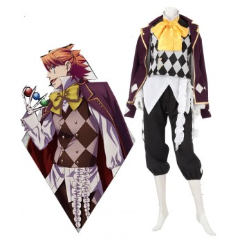 Black Butler Circus Joker Costumes Cosplay