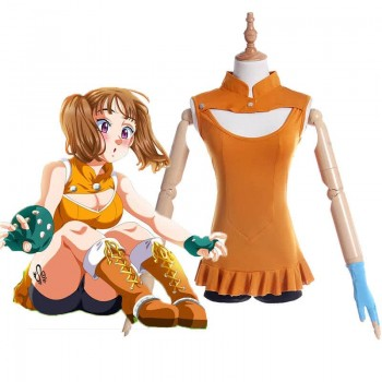 The Seven Deadly Sins Nanatsu no Taizai Diane Anime Cosplay Costumes