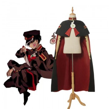 Toilet-Bound Hanako-kun Hanako-kun Cloak Cosplay Costume