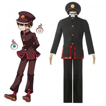 Toilet-Bound Hanako-kun Hanako-kun Uniform Cosplay Costume
