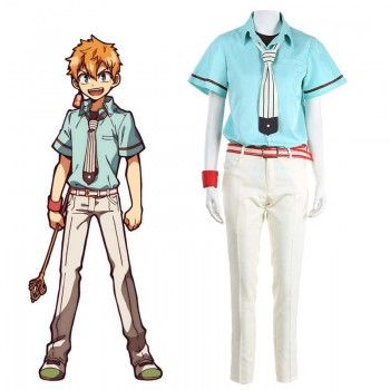 Toilet-Bound Hanako-kun Kou Minamoto Uniform Cosplay Costume