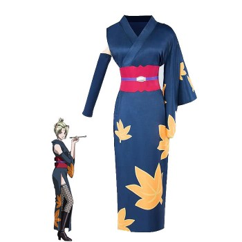 Gintama Tsukuyo Cosplay Costumes Women Kimonos