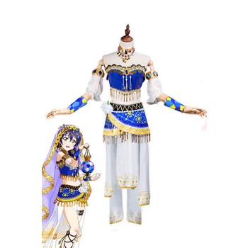 Love Live! Arab Dancers Awaken Umi Sonoda Anime Cosplay Costumes