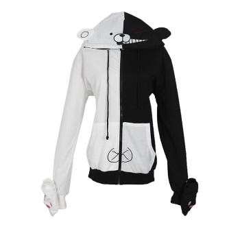 Danganronpa: Trigger Happy Havoc Black and White Cosplay Costumes