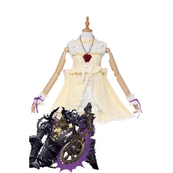 Yoko Taro's New Game SINoALICE Sleeping Beauty Yellow Cosplay Costumes