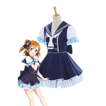 Love Live Pirate Set Honoka Kōsaka Cute Dress AnimeCosplay Costumes