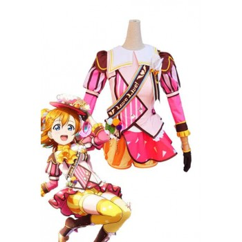 Love Live! Ice Cream Awake Honoka Kōsaka Anime Cosplay Costumes