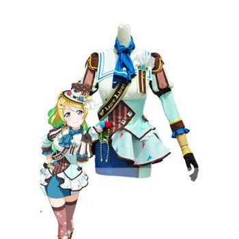 Love Live! Ice Cream Awake Ayase Eli Anime Cosplay Costumes