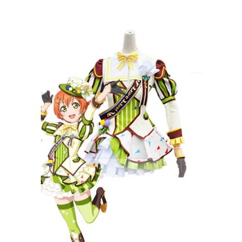 Love Live! Ice Cream Awake Rin Hoshizora Anime Cosplay Costumes