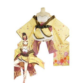 Fate/Grand Order Ibaraki Douji Anime Cosplay Costumes