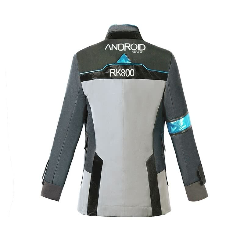 Detroit Become Human Connor Jacket Cosplay Costume For Sale Rolecosplay Com