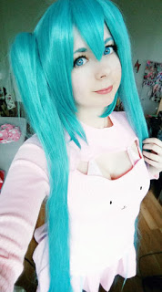 120cm Supper Long Green Vocaliod Cosplay Wigs Megurine Miku Straight Clip on Ponytails Full Hair