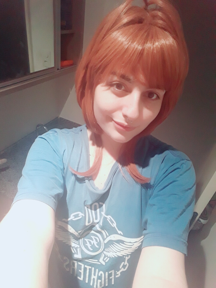 the wig is full and wonderful!! maybe i cut slightly the bangs, arrived well before term (and one day before a event sakura on which i will attend! i'm happy too with the timming). recommend ♥