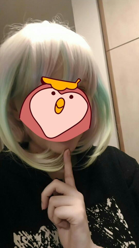 This wig is awesome. No bald parts, wig cap inside, good colors and fast delivery ofc.