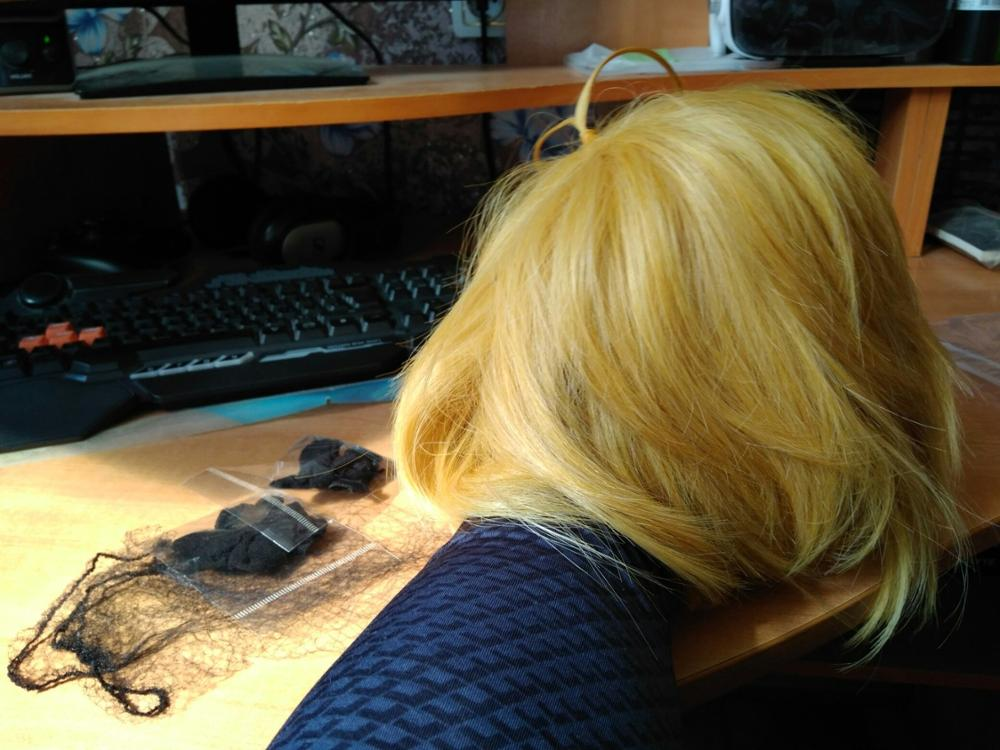 Hey, thanks once again for the fast shipment and great customer service, I am quite happy with the wig too !