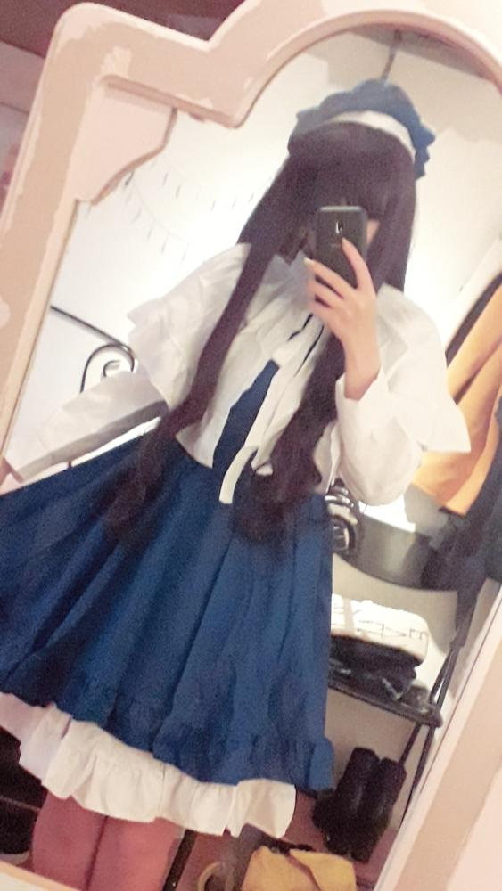 Size L is still a little small for me, but it's still a really nice cosplay. Thank you!