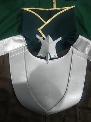 the costume is amazing the best shield hero costume you could buy it's very well made
