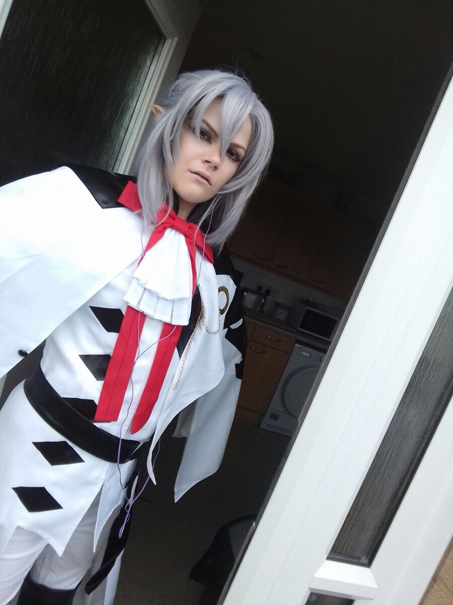 Seraph Of The End Ferid Bathory Cosplay Costume