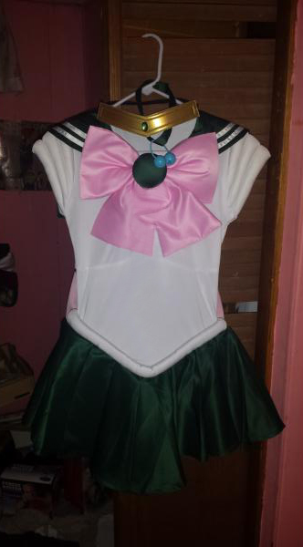 Sailor Jupiter Cosplay Costume Turnouts Party Dress Customized New