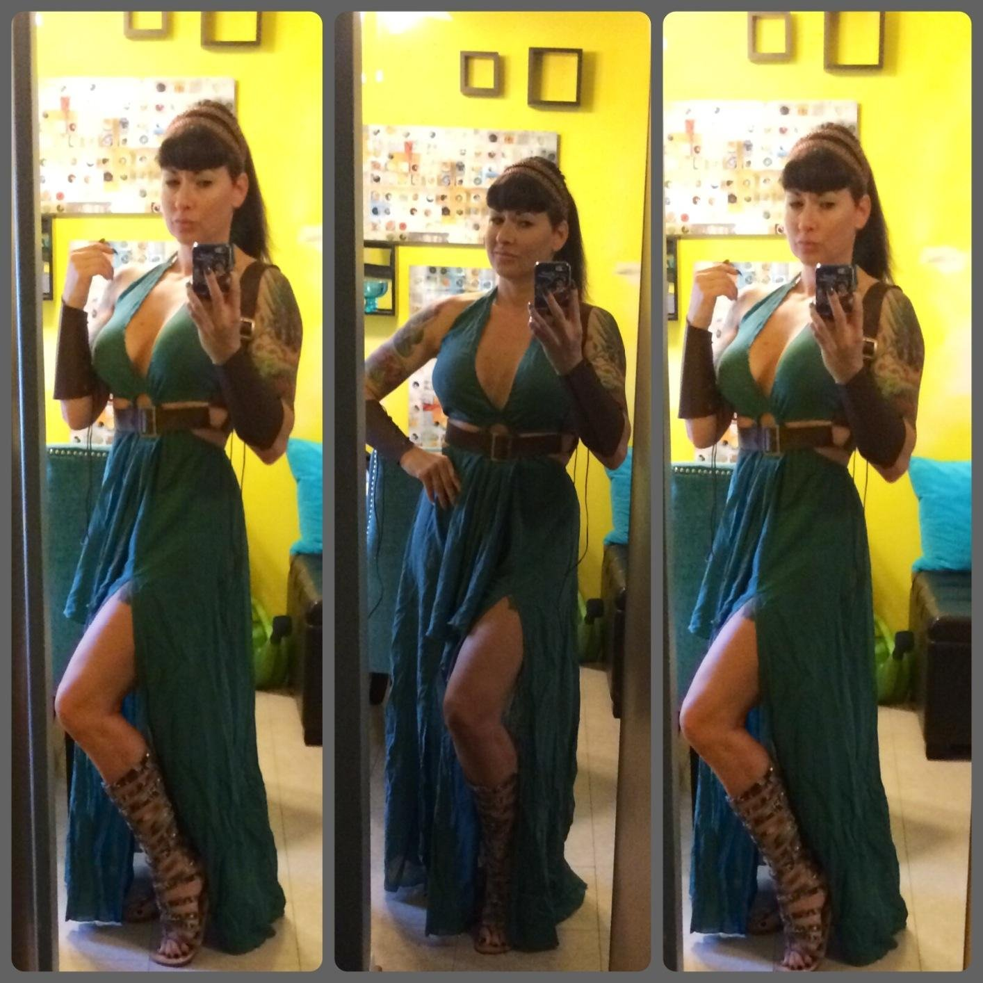 Game Of Thrones Costume Cosplay Dress Sexy Huntress