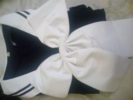 Women Girls Japanese School Sailor Style Dresses