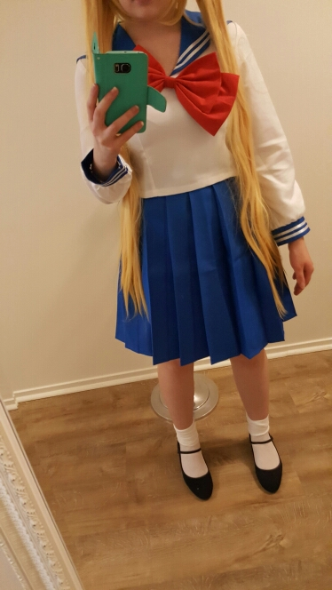 Sailor Moon Serena Tsukino 5 Version Sailor Suit Uniforms Cosplay Costumes