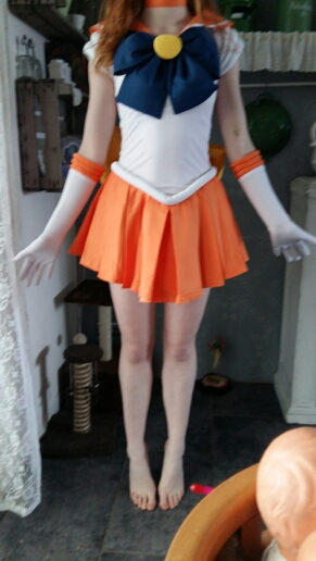 Sailormoon Minako Aino Sailor Suit Cosplay Costumes