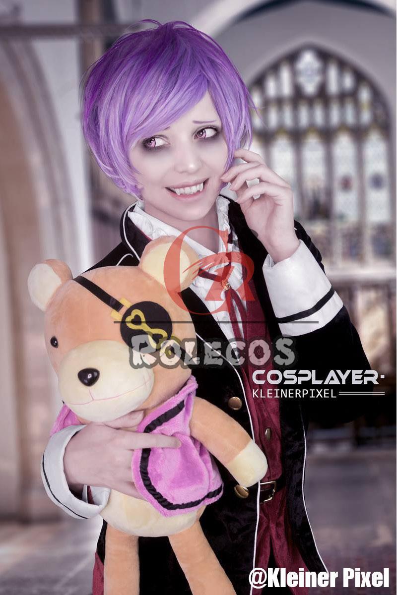 DIABOLIK LOVERS Sakamaki Ayato School Uniform Halloween Cosplay Costume