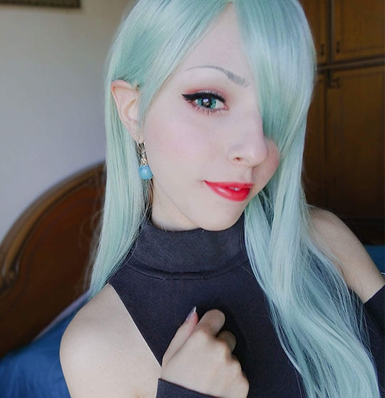 The Seven Deadly Sins Elizabeth cosplay wig